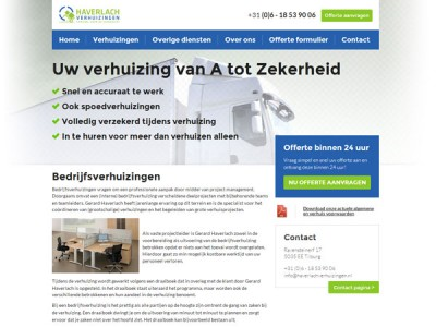 Website Haverlach Verhuizingen